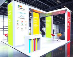 Intermedia Custom Build Exhibition Stand
