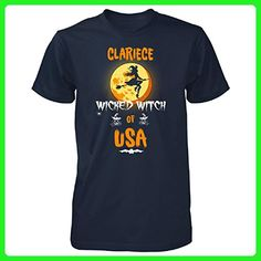Clariece Wicked Witch Of Usa. Halloween Gift - Unisex Tshirt Navy 5XL - Holiday and seasonal shirts (*Amazon Partner-Link)