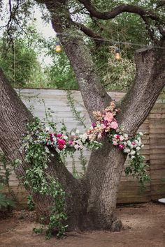 Floral covered tree backdrop: http://www.stylemepretty.com/texas-weddings/austin/2016/05/12/a-glamorous-ballroom-affair-with-a-hint-of-rustic-style/ | Photography: Shaun Menary Photography - http://shaunmenary.com/