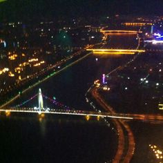 Taken from the Canton Tower. Guangzhou, China. June 2012.