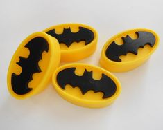 Holy Suds It's BATSOAP - Set of 4 Soaps Any Color - Great Stocking Stuffer or Party Favor on Etsy, $4.00