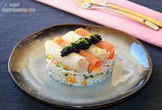 Ensalada de arroz con ahumados - http://paraentretener.com/ensalada-de-arroz-con-ahumados/