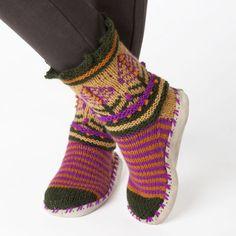 Nordic Slipper Socks