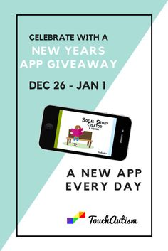 2016 is just around the corner! We are excited to be doing a New Years App Giveaway to thank our loyal followers and the wonderful app developers out there. Be sure to mark your schedules and enter everyday! More info will be coming soon. (Also don't forget to enter the MathBoard Giveaway this week which ends Sunday, December 13th) #giveaway #newyears #freeapp #touchautism Free Educational Apps, App Development, Don't Forget, Giveaway, Free Apps, December, The Creator, Ipad