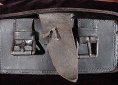 "The box shown here likely ran the blockade, and was issued with the Enfield rifle and rifle-muskets brought from England.  It could however have been issued with any Confederate long arm.The box carries the ""S.ISAAC CAMPBELL & Co. 71 JERMYN ST. LONDON"" stamping on the inside of the outer flap."