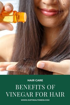 Benefits Of Vinegar For Hair How To Lighten Hair, How To Make Hair, Vinegar For Hair, Garlic Benefits, Home Remedies For Hair, Hair Rinse, Aromatic Herbs, Home Treatment, Oily Hair