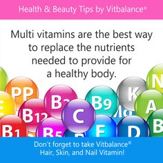 Vitbalance is one of the best women's vitamin in the market. Try it today!!!!!