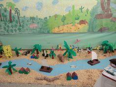 Resultado de imagem para maquete escolar São francisco um rio muito importante