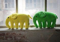 Elefantti plush pillows || Elefantti-pehmotyynyt