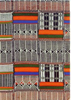 Colour and print combined in beautiful African textile...so inspiring