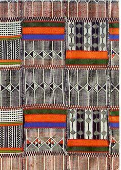 Unicef weaving postcard