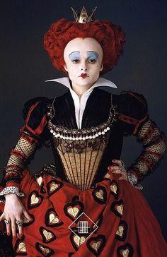 Helena Bonham Carter as The Red Queen in Alice In Wonderland