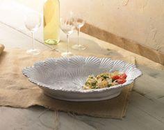 Embossed Shell Serving Bowl | Living | Mud Pie