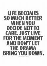 Say no to drama | Quotes | Pinterest