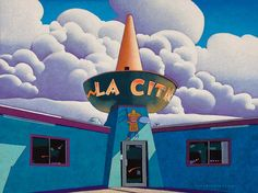 """""""La Cita"""" 36 by 48 inches acrylic on canvas Copper Moon Gallery Taos, NM"""