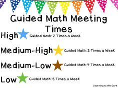 Learning to the Core: Guided Math Part 3: Using Assessment to Group Students for Guided Math