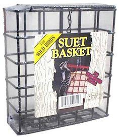 Greatest Bird Feeders - Small Wire Suet Basket, $5.50 (http://www.greatestbirdfeeders.com/small-wire-suet-basket/)