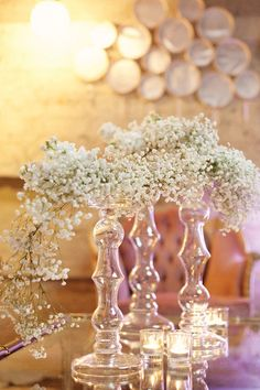 baby's breath can be edgy too // floral design: isariflowerstudio.com // photography: lunaphoto.com