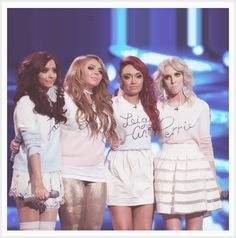 Little Mix...Just like One Direction:D Only with four members..Not five XP