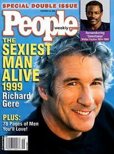 Richard Gere, cel mai sexy barbat, ever (mai ales in filmul 'Şacalul'..)