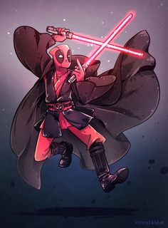 Deadpool-sith by visualkid-n on DeviantArt