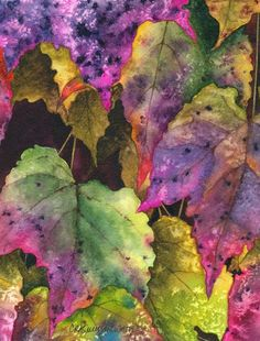watercolor images of leaves | watercolor leaves | Art
