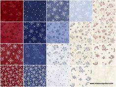 Snow Happens Fat Quarter Bundle - Fresh Water Designs - Maywood Studios