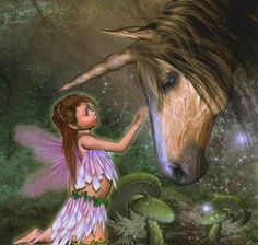 ❤❤❤ UNICORN FAIRY * Unicorn Fantasy Myth Mythical Mystical ...