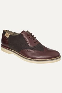 #beautiful footwear from #Lacoste - the Sherbrooke Lace Up. Make your #men happy!