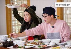 "Song Ji Hyo Sweetly Takes Care of Gary in Behind-the-Scenes Photos of ""Running Man"" Running Man Song, Running Man Korean, Ji Hyo Running Man, Running Man Members, Gary In, Yoo Jae Suk, Korean Variety Shows, Scene Photo, Korean Actors"