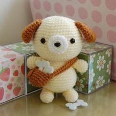 Ищете описание вязаной собачки амигуруми? Милости просим в наш блог :)