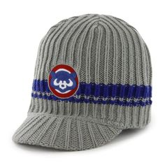 671e52525c7 Chicago Cubs 1984 Manitoba Knit Brim Hat by  47