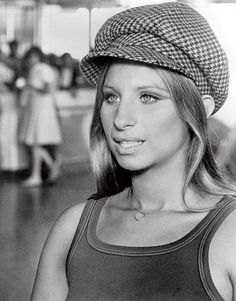 "Barbra Streisand's famous newsboy cap from the 1972 movie ""What's Up, Doc?"""