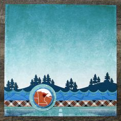 Tell Tales of Your Journeys with These Travel Scrapbook Border Ideas – Scrapbooking Scrapbook Borders, Scrapbook Layout Sketches, Baby Scrapbook, Travel Scrapbook, Scrapbook Albums, Scrapbooking Layouts, Scrapbook Cards, Water Patterns, Sea To Shining Sea