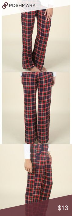 😀New Altar'd State plaid sleep pants Carmichad lounge pants. Waist is 13 and a half but it does stretch in the inseam is 31 in. They are loose fit and tags are still attached so would make a great Christmas present. Altar'd States Intimates & Sleepwear Pajamas