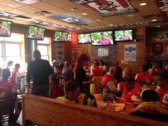 KC Gooners - Pretty sure we have a record crowd already!! #COYG #FACup  - Johnny's Bar & Tavern