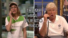 "#SNL #Trump's Puerto Rico, Season Premiere 2017, Baldwin: ""We have to take..."