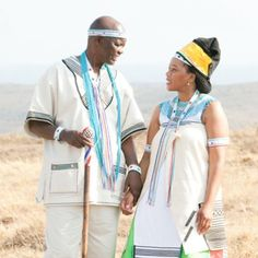 A traditional Xhosa wedding in South Africa. South African Weddings, African American Weddings, Wedding Couples, Wedding Day, Wedding Things, Xhosa Attire, Traditional Wedding Decor, Afro Style, African Fashion