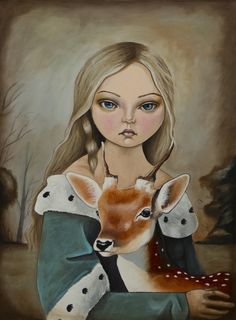 Brother and Sister. Inspired by the Grimms brother fairy tale SOLD