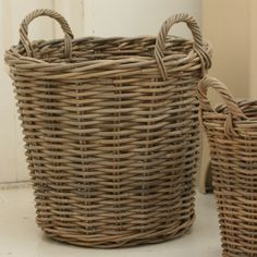 Pale and Interesting - Log Basket-Large. GP 30.