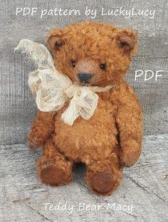 PDF Teddy Bear Pattern 5.5 in artist teddy pattern pdf file
