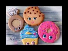 Wonderful Pictures How to Make Shopkins Cookies - D'Lish Donut by Emma's Sweets . Wonderful Pictures How to Make Shopkins Cookies – D'Lish Donut by Emma's Sweets Shopkins Coo Shopkins Donut, Shopkins Cookies, Shopkins Bday, Shopkins Cake, Cookies For Kids, Fun Cookies, Cupcake Cookies, Sugar Cookies, Decorated Cookies
