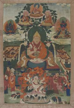 Gyaltsab Yeshe Lobzang Tanpa'i Gonpo, the 8th Tatsag (rgyal tshab ye shes blo bzang bstan pa'i mgon po, 1760-1810).