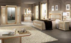 Creating a sophisticated space with Arredoclassic elegant bedroom sets Bedroom Sets, Home Bedroom, Bedroom Decor, Contemporary Bedroom, Modern Bedroom, Neoclassical Design, Luxury Bedroom Furniture, Bedroom False Ceiling Design, Bedroom Ceiling