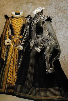 Some of Piero Tosi's absolutely amazing costuming. These were for the opera Don Carlos.