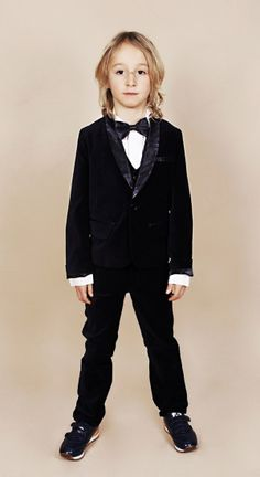 Mini Rodini AW12 Eye of the Tiger Collection Tuxedo
