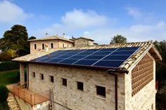 fotovoltaico in Agriturismo
