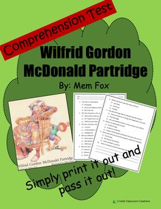 wilfrid gordon mcdonald partridge pdf