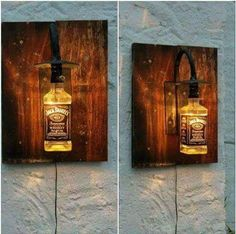 Jack Daniels lamp - really cool!