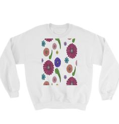 Buy unique print-on-demand products from independent artists worldwide or sell your own designs at the drop of an image! Online Printing, Graphic Sweatshirt, Sweatshirts, Colors, Unique, Sweaters, How To Make, Stuff To Buy, Design